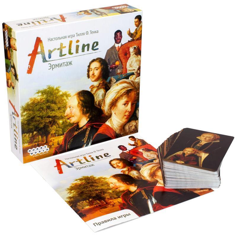 Настольная игра Artline: Эрмитаж - комплектация
