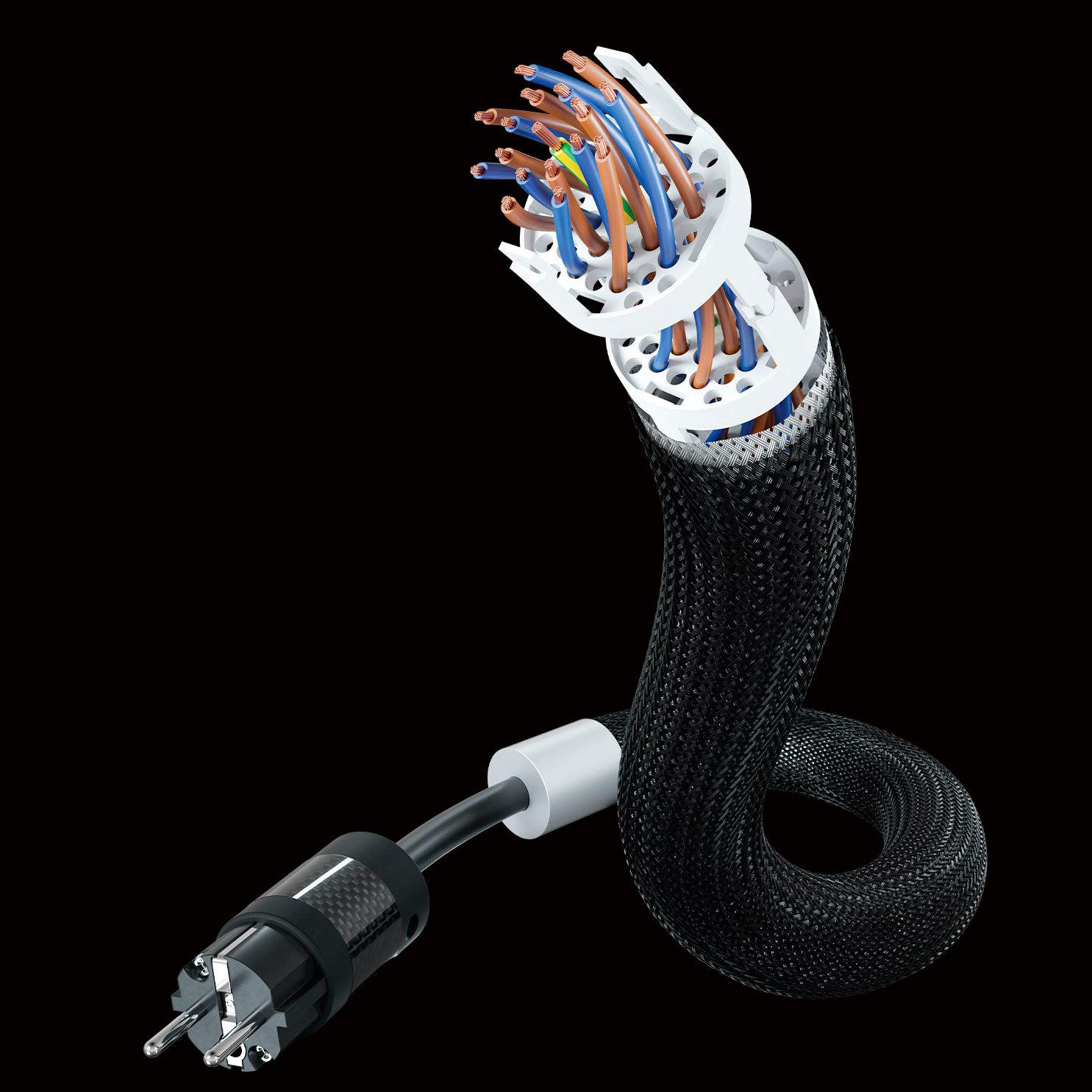 Inakustik Referenz Mains Cable, AC-4404 AIR, SHUKO