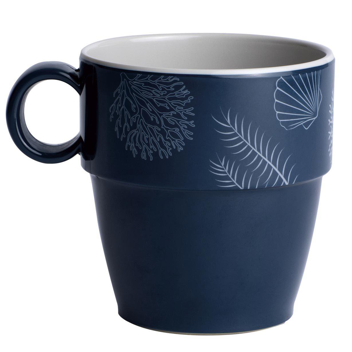Melamine mug, Living, 6 un