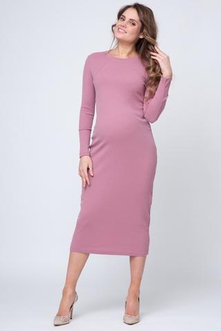 Платье для беременных и кормящих 11392 темно-розовый