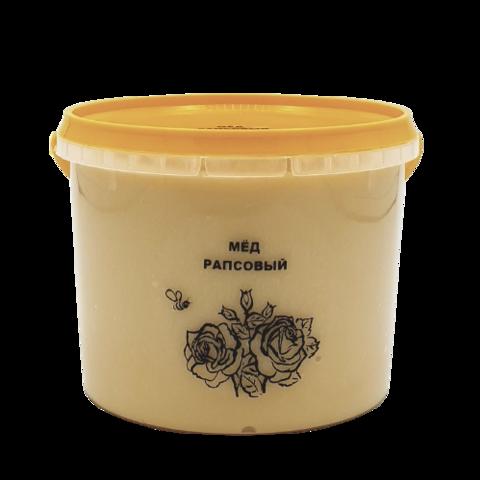 Мёд натуральный РАПСОВЫЙ, 1 кг НОВЫЙ УРОЖАЙ