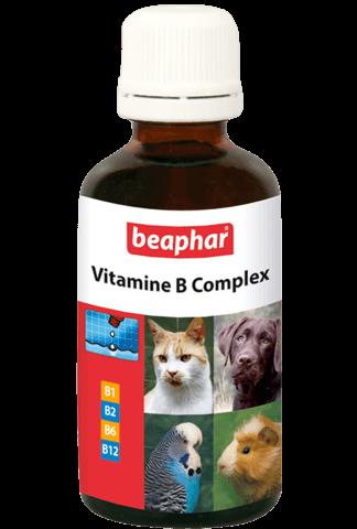купить бефар Beaphar Vitamine B Complex кормовая добавка для собак и кошек