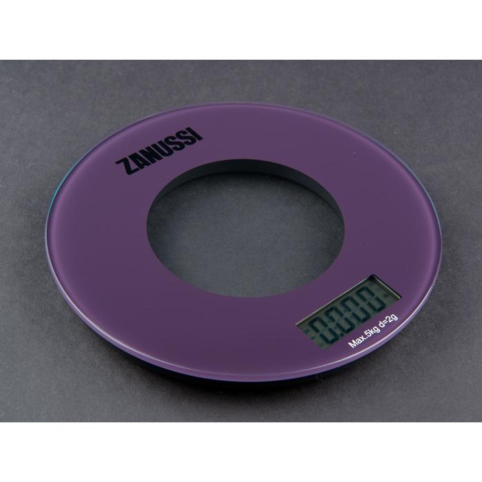 Кухонные весы фиолетовые Bologna, артикул ZSE21221BF, производитель - Zanussi