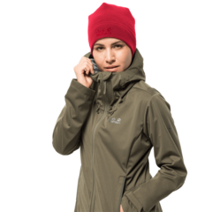 Шапка Jack Wolfskin Real Stuff Cap red lacquer - 2