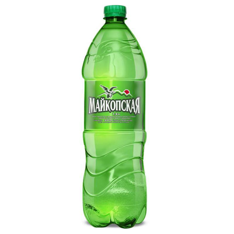 Минеральная вода Майкопская ПЭТ 1,5л.