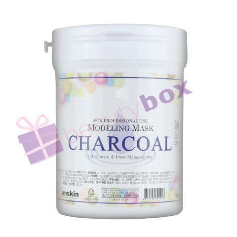 Маска альгинатная для жирной кожи с расширенными порами CHARCOAL