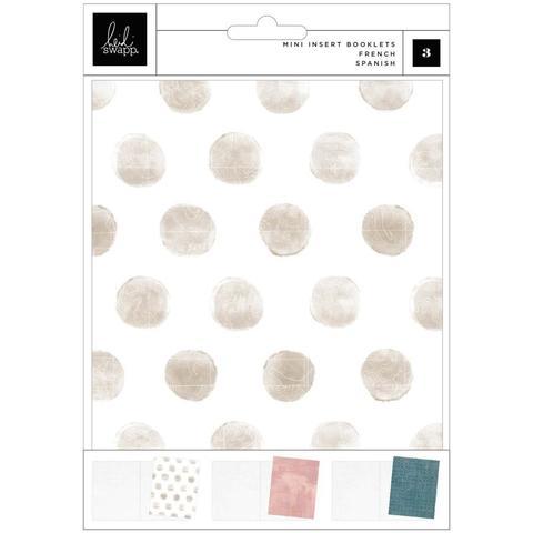 Тетради 14х18,5 см для альбомов Heidi Swapp Storyline Chapters Mini Insert Book Set -Mount  -3 шт