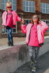 Бомбер WILD, розовый