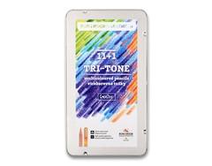 Карандаши многоцветные TRI-TONE 3442, 12шт