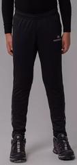 Детские Утеплённые Элитные Лыжные брюки Nordski Jr.Pro Black