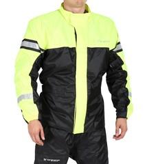 Куртка-дождевик Sweep Monsoon 3, чёрный/жёлтый