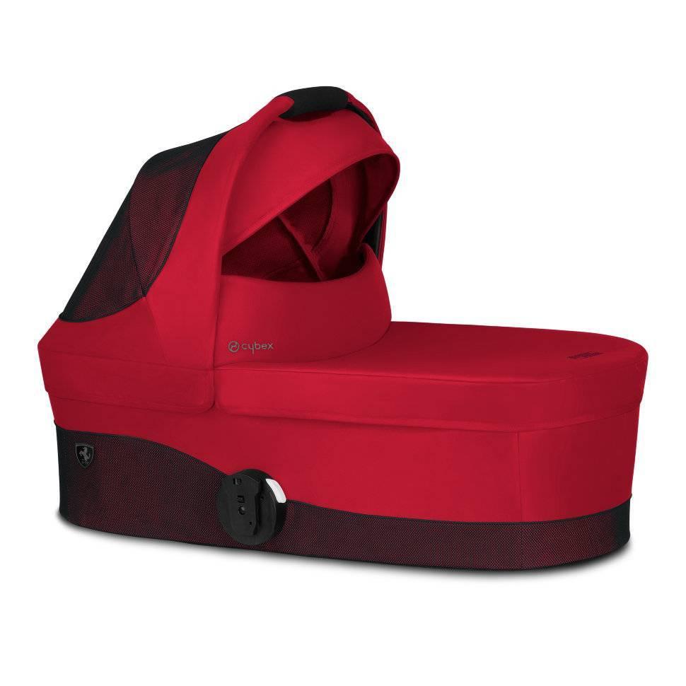 Спальный блок Cot S  FE Ferrari Racing Red