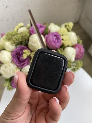 Чехол Apple watch 38mm Soft touch case /black/