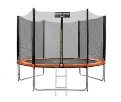 Батут Atlas Sport 252 см (8ft) Pro оранжевый