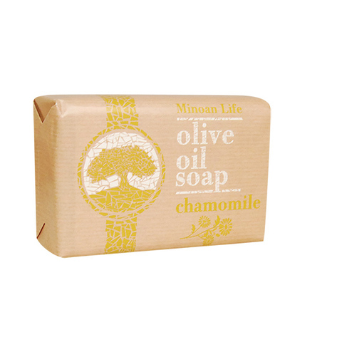 Оливковое мыло с ромашкой MINOAN LIFE 100 гр