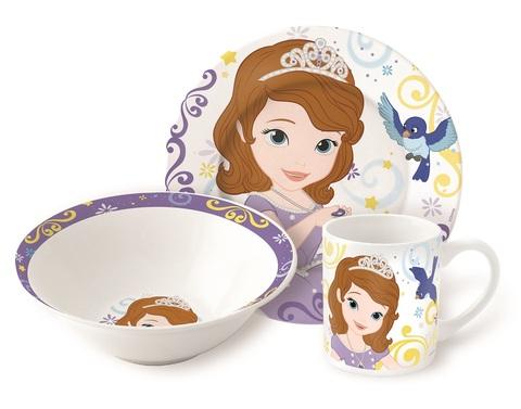 Принцесса Диснея София Набор керамической посуды — Posuda Sofia