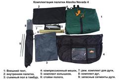 Купить кемпинговую палатку Alexika Nevada 4 от производителя со скидками.