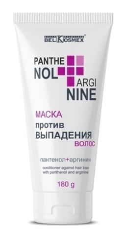 BelKosmex PANTHENOL + ARGININE Маска против выпадения волос 180мл