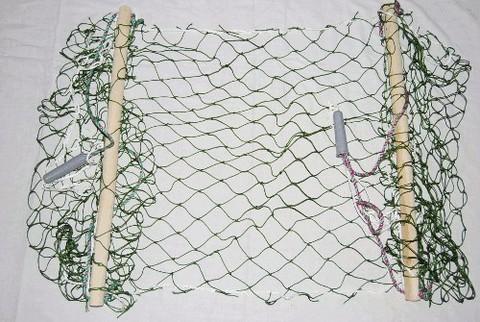 Гамак одноместный подростковый  плетённый.