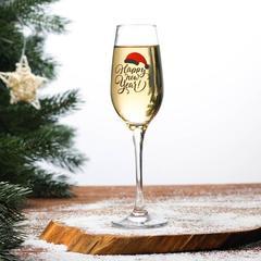 Бокал для шампанского «Happy New Year», 190 мл, фото 3
