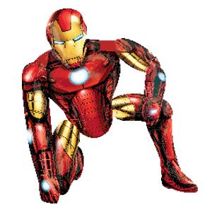 Ходячая фигура Железный человек 93 Х 116см