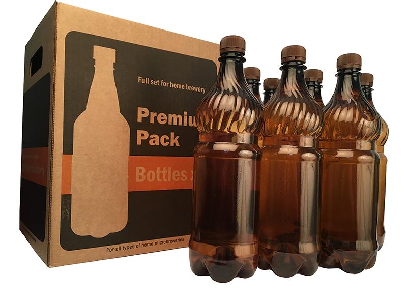 Розлив и хранение пива Пивоварня.ру Набор ПЭТ бутылок в боксе 104_P_1484337395251.jpg