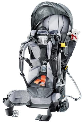 Картинка рюкзак-переноска Deuter Kid Comfort III Black-Granite - 2