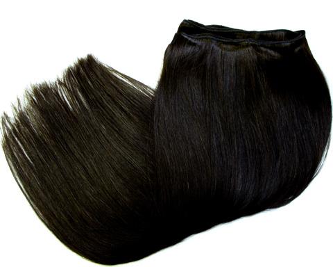 ТРЕССЫ из натуральных волос неокрашенные