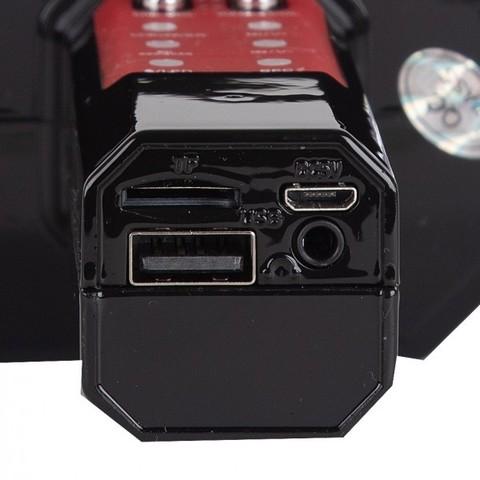 Беспроводной караоке-микрофон WSTER WS-1828, красный