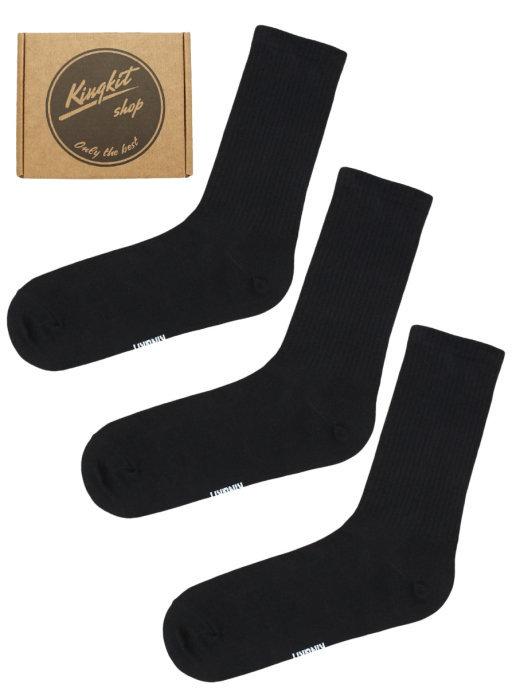 Набор черных носков 3-69