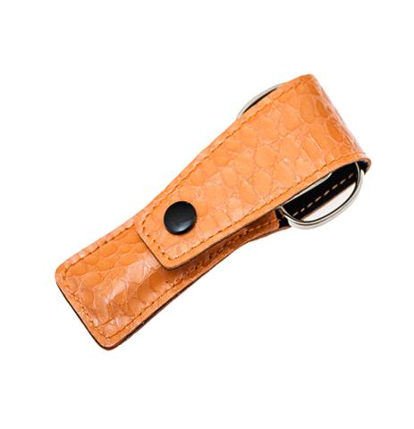 Маникюрный набор в чехле Baruffaldi оранжевый