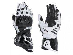 Мотоперчатки Alpinestars GP Pro, чёрный/белый