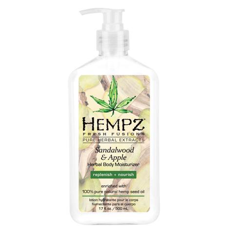 Hempz - Уход для тела: Молочко для тела увлажняющее Сандал и Яблоко (Sandalwood & Apple Herbal Body Moisturizer), 500мл