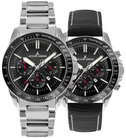 Купить Наручные часы Jacques Lemans 1-1674A по доступной цене