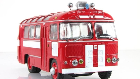 PAZ-672 Fire Engine Bus Classicbus 1:43