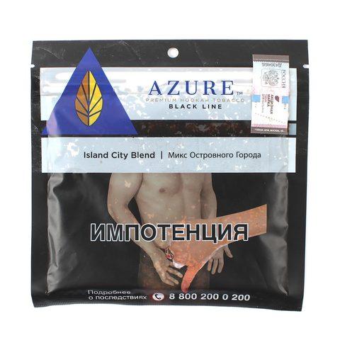 Табак для кальяна Azure Black Line Island City Blend 100 гр