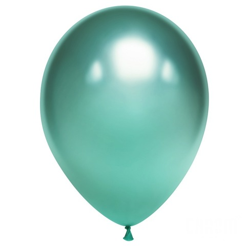 Шар Хром, зеленый, 28 см