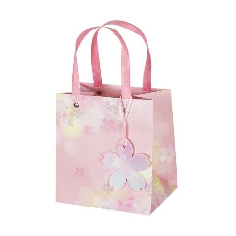 Пакет подарочный Pink 15*16*11 1