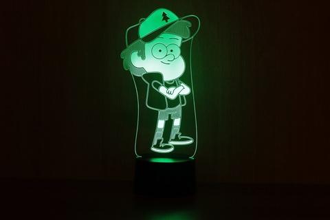 3D светильник Диппер