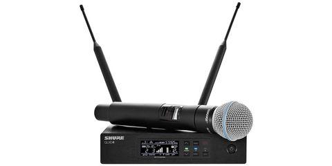 SHURE QLXD24 / B58 вокальна радіосистема