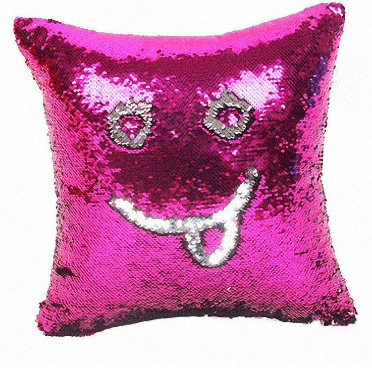 Хит продаж Подушка с пайетками Magic Pillow (фиолетовый/серебро) 518303e628a514576d3c27640621ace6.jpg