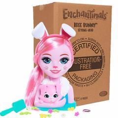 Голова для причёсок Enchantimals Кролик Бри