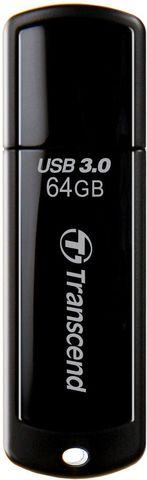 USB-накопитель Transcend JetFlash 700 64GB, TS64GJF700, black, цвет черный