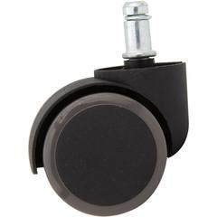 Набор колес для кресла универсальный (прорезиненный пластик, 5 штук в упаковке)