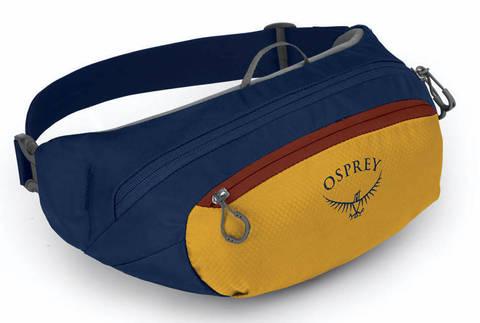 Картинка сумка поясная Osprey daylite waist Honeybee Yellow/Deep Sea Blue - 1