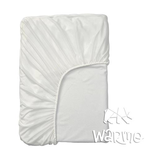 наматрацник водонепроникний дитячий 120 на 60 см білий фото