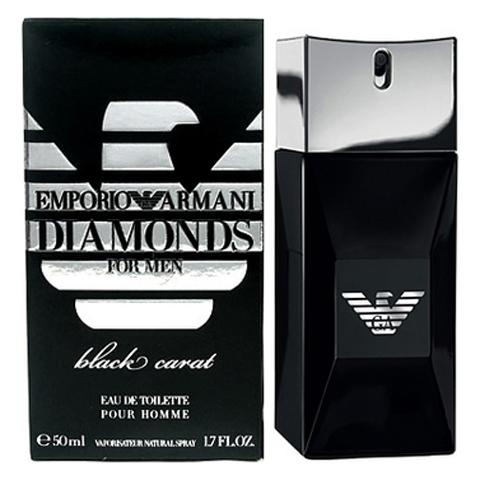 Giorgio Armani: Emporio Diamonds Black Carat мужская туалетная вода edt, 50мл