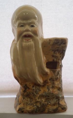 """Аромалампа """"Звездный старец ШОУ-СИН - здоровье и долголетие"""", керамика 15 см"""