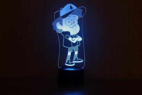3D лампа Диппер
