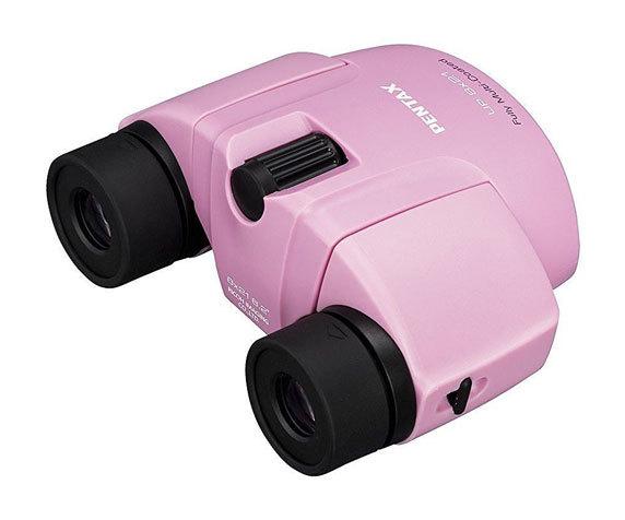 Выдвижные наглазники Pentax 8x 21 розовый